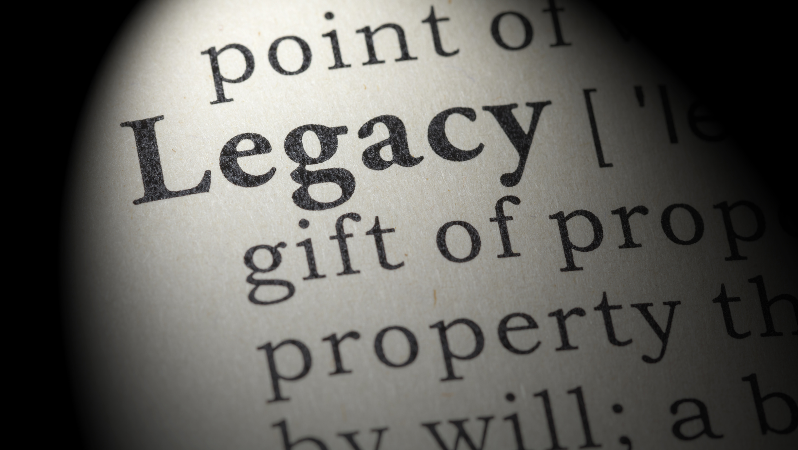 How to create a lasting legacy for future generations